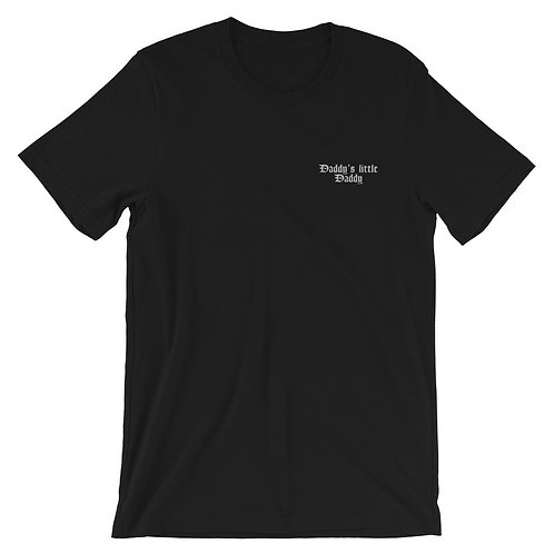 Daddy's little daddy Embroidered Short-Sleeve T-Shirt