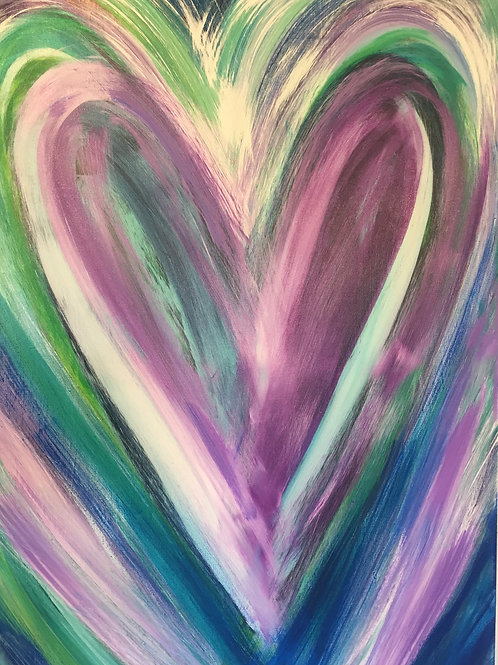 Layers of Love 24 x 36