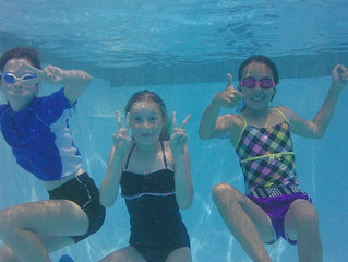 4 stages of learning as applied to Swimming AND 3 important keys to successful swim lessons...