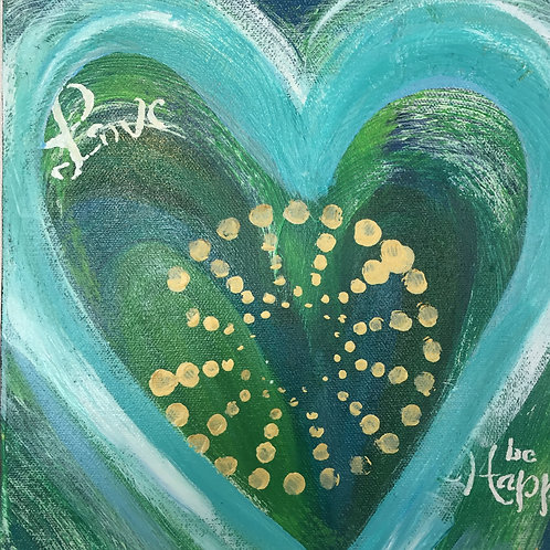 Love be Happy 12 x 12
