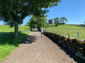 The Scottish countryside: Scone Palace and Dunkeld