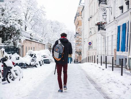 Paris sous la neige, Montmartre