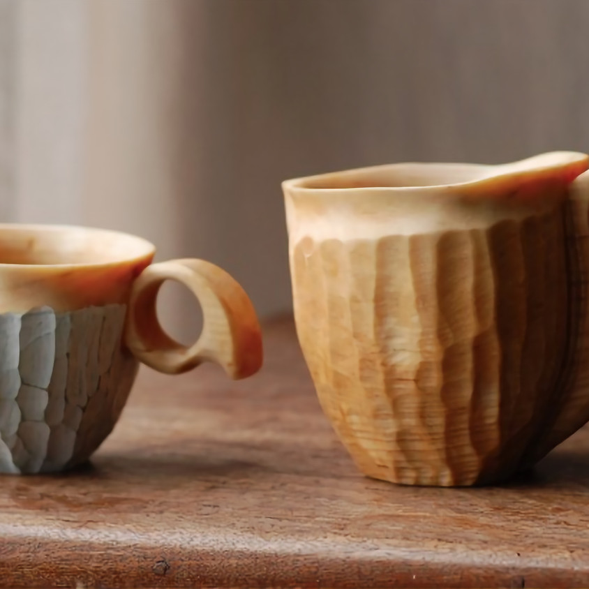 Highlands cup making with Wooden Tom