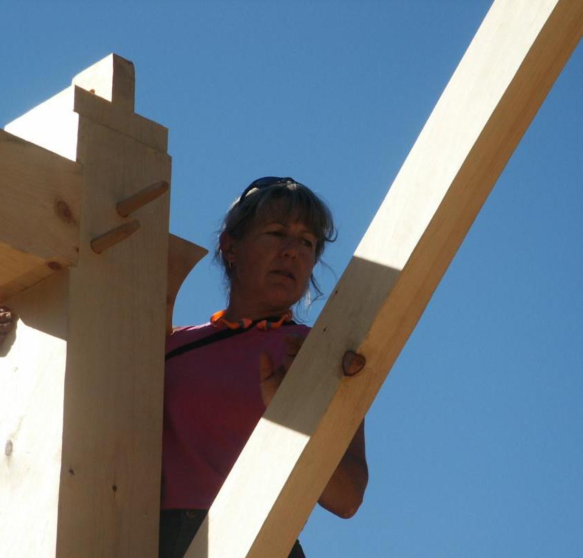 Lizabeth timber framing