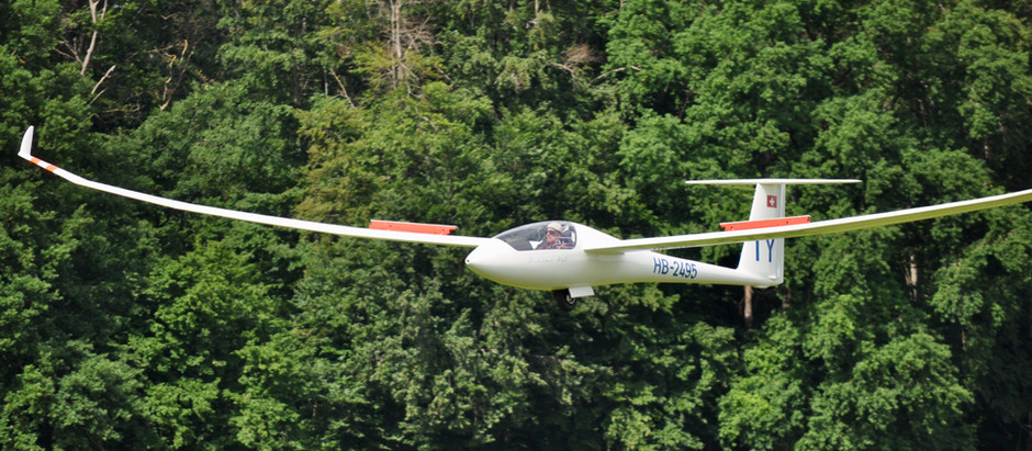 Discus 2 cT ist flugbereit- Erste Landung als HB 2495
