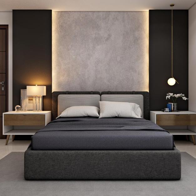 Gray Genix Bedroom Design