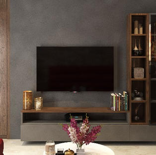 Tv unit to bring in the entertainment in the room