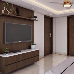 Tv unit with Storage