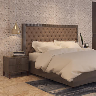 Gold streak Bedroom design
