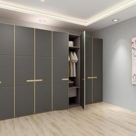 Wardrobe with sliding doors