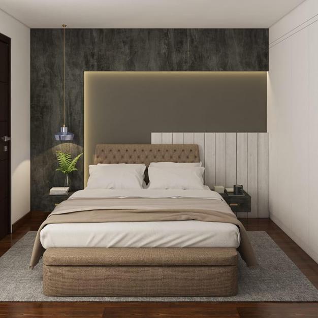 Grayium beige bedroom
