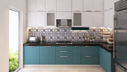 Modular kitchen designer in M3M marina for a residence of 2