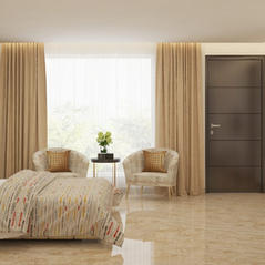Beige Harmony bedroom design
