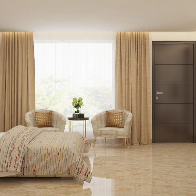 Beige Harmony bedroom design