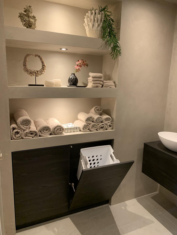 bathroom storage design tips. internal wall storage .lakkad works.