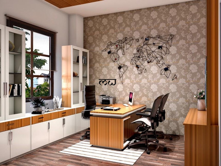 LAYOUT TIPS FOR A HOME OFFICE!