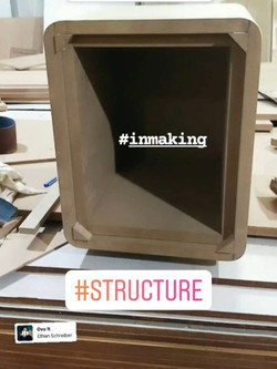 side table in making