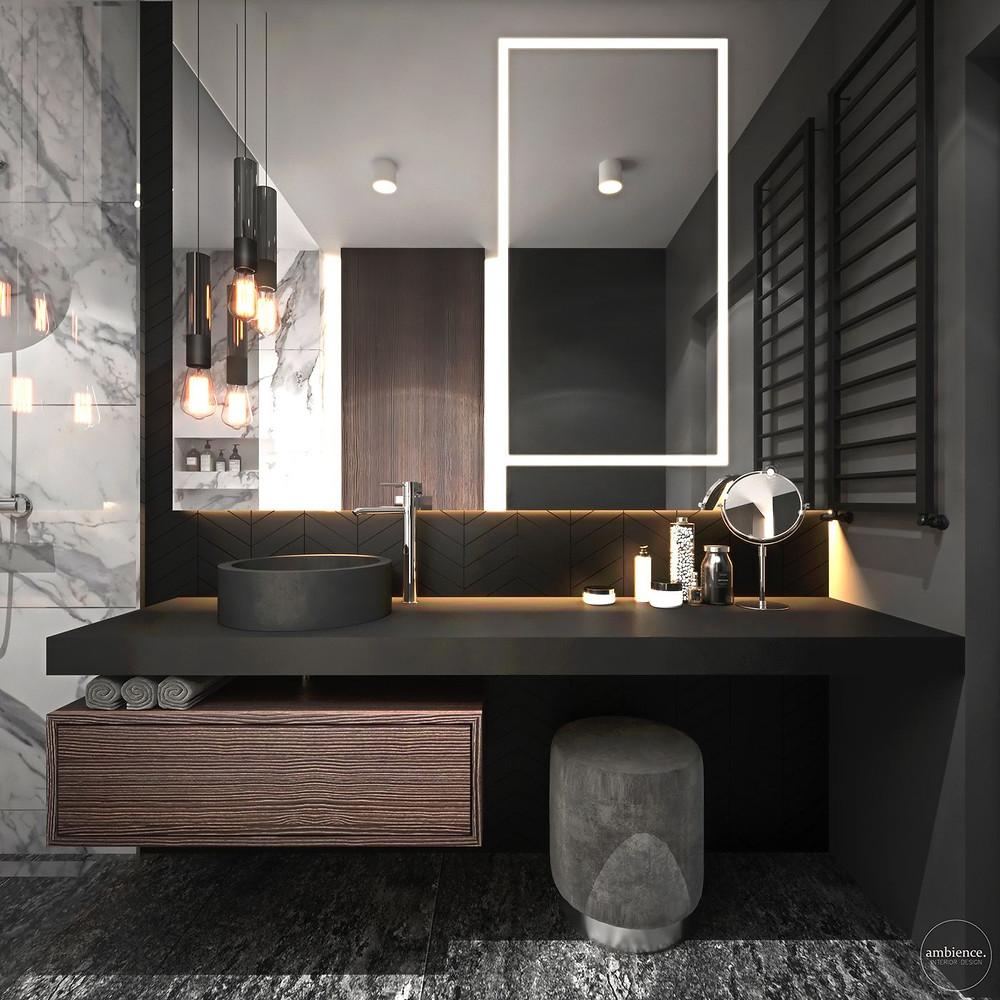 Bathroom vanity design. lakkadworks