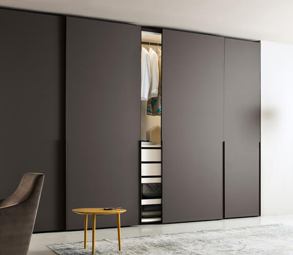 Divine Brown Modular wardrobe