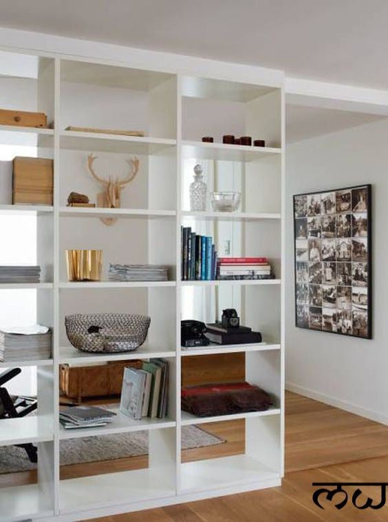 shelving unit living room
