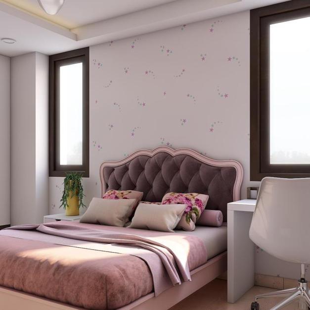 Pink casa Bedroom Design