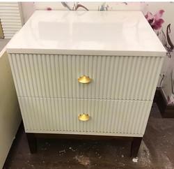 Elegant Bedside table storage
