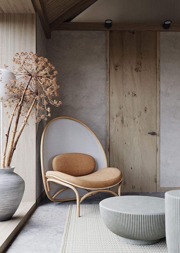 natural element for interior decoration. custom built wooden furniture, organic interiors. lakkadworks