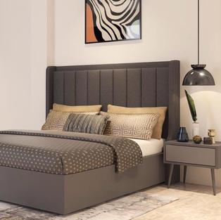 Winsome brown Bedroom design