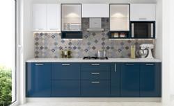 Kitchen in Blue trooper New Delhi