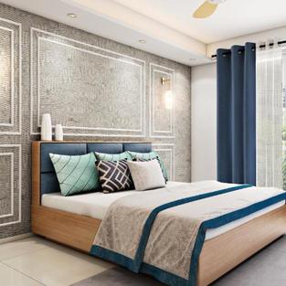 European theme inspired bedroom design