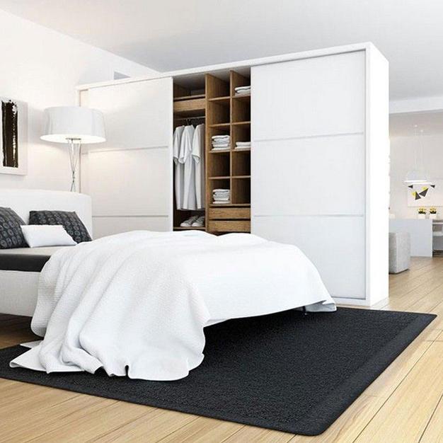 All White Bedroom Design