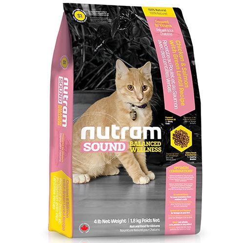 Nutram S1 Sound Kitten