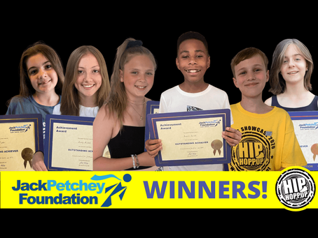 We Celebrate Another 6 Jack Petchey Achievement Award Winners at Hip Hop Pop