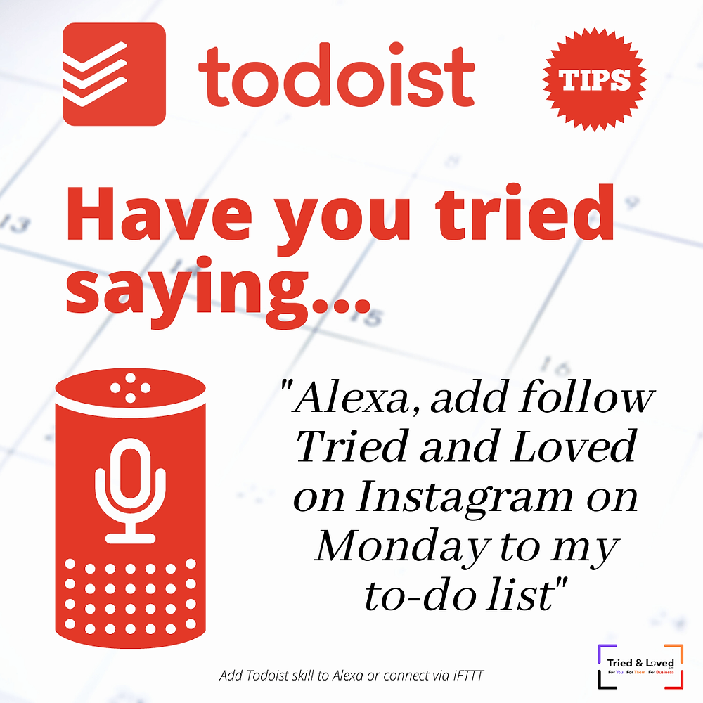 Integrate todoist with Alexa
