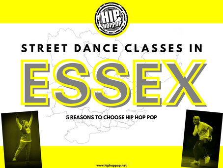 Street Dance Classes in Essex: 5 Reasons Why You Should Choose This Street Dance School in Essex!
