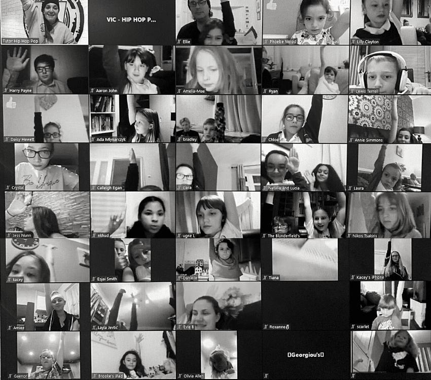 Anti-bullying week 2020 uk young ambassadors at Hip Hop Pop