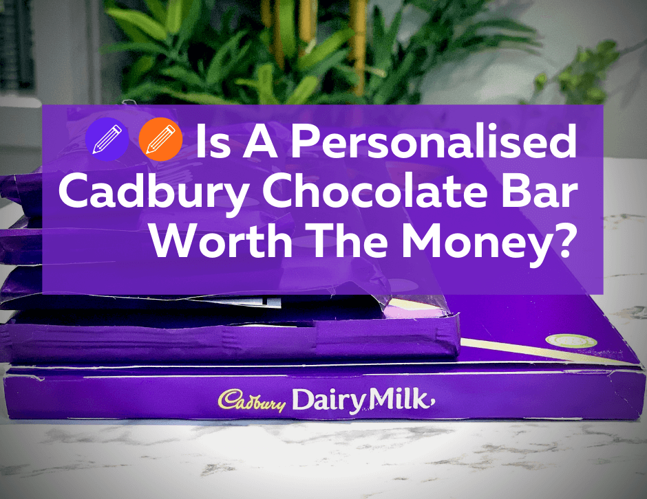 Personalised Cadbury Chocolate Bar from Cadbury Gifts Direct Reveiw