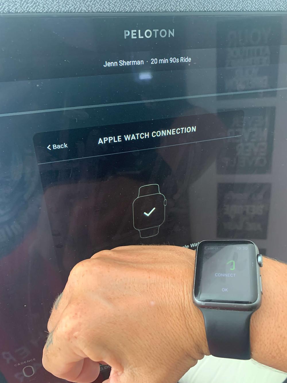 peloton-bike-plus-apple-watch-pairing