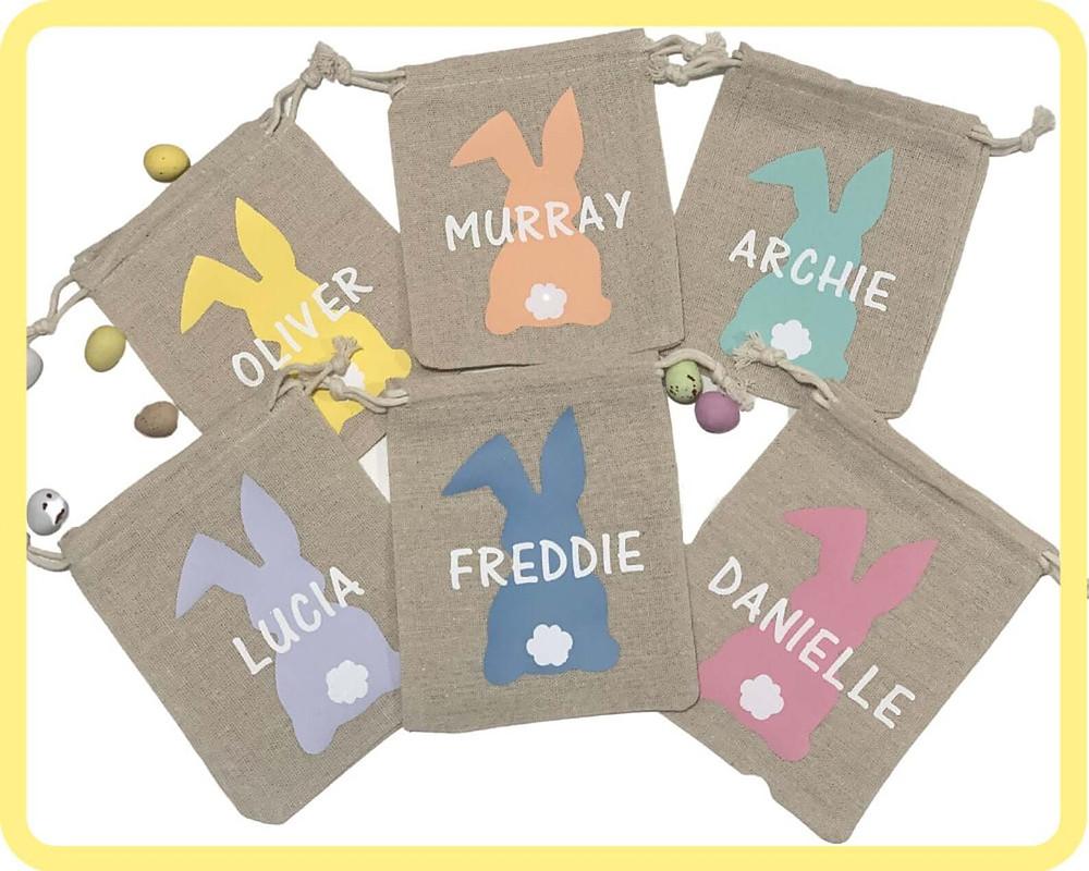 Personalised Easter Bags