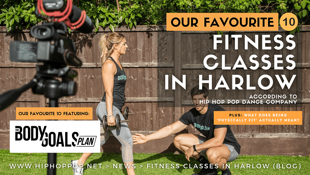 The Body Goals Plan - 10 exercise classes in Harlow