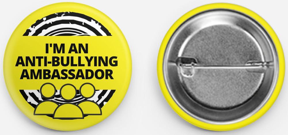 Anti-bullying week 2020 uk young ambassadors at Hip Hop Pop badge