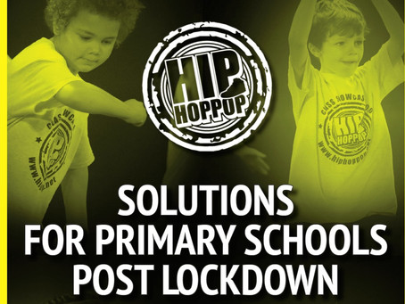 Solutions for teaching PE in primary schools post-lockdown by Hip Hop Pop