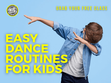 Easy dance routines for kids, grab your FREE class right here