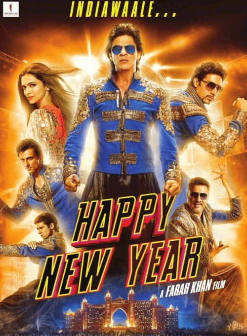 Happy New Year - Movie Cover - Best Dance Films On Netflix