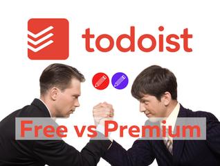 Todoist Free vs Premium (Renamed Pro in 2021)