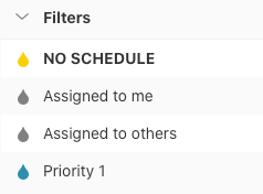 Todoist filters