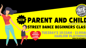 We're Opening A New Parent And Child Beginners Class In September!