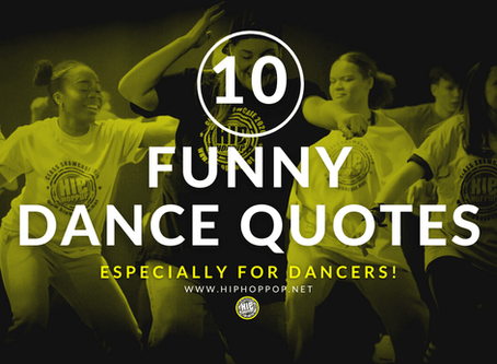 Top 10 Funny Dance Quotes, Facts And Memes - Especially For Dancers!