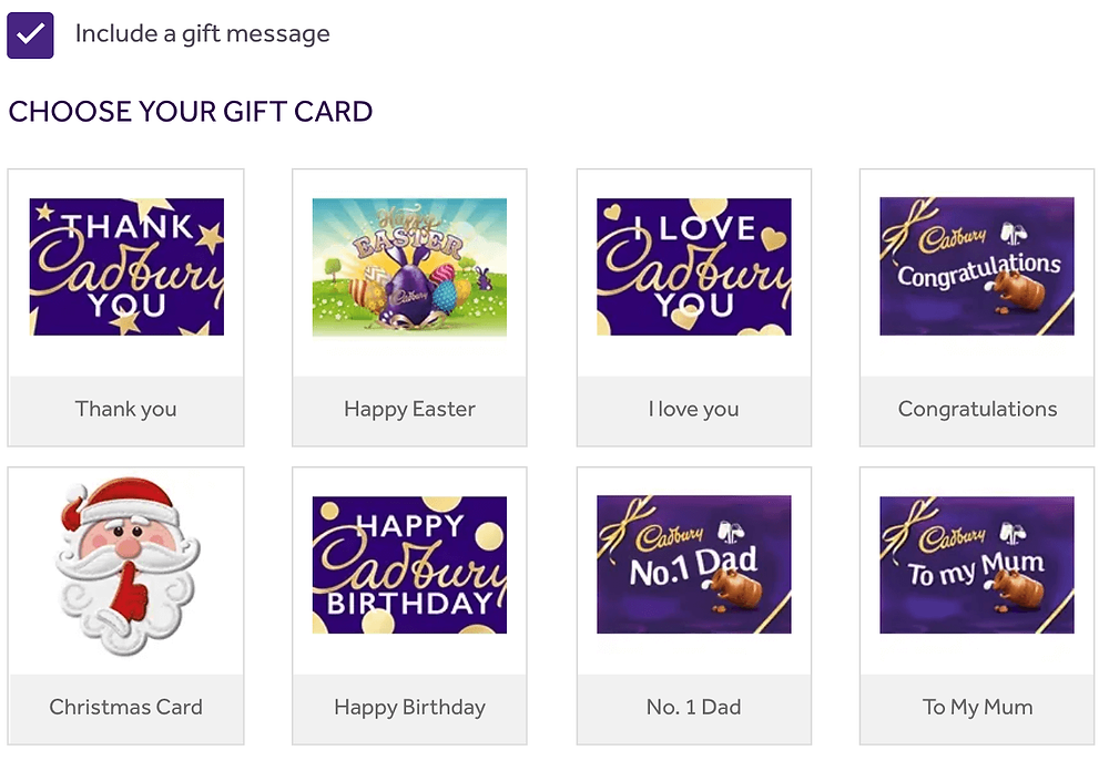 Screenshot-of-the-gift-cards-available-at-Cadbury-Gifts-Direct