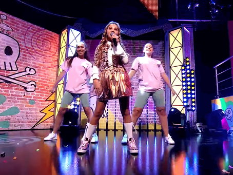 Hip Hop Pop dancers perform for Rosie McClelland On CBBC and YouTube